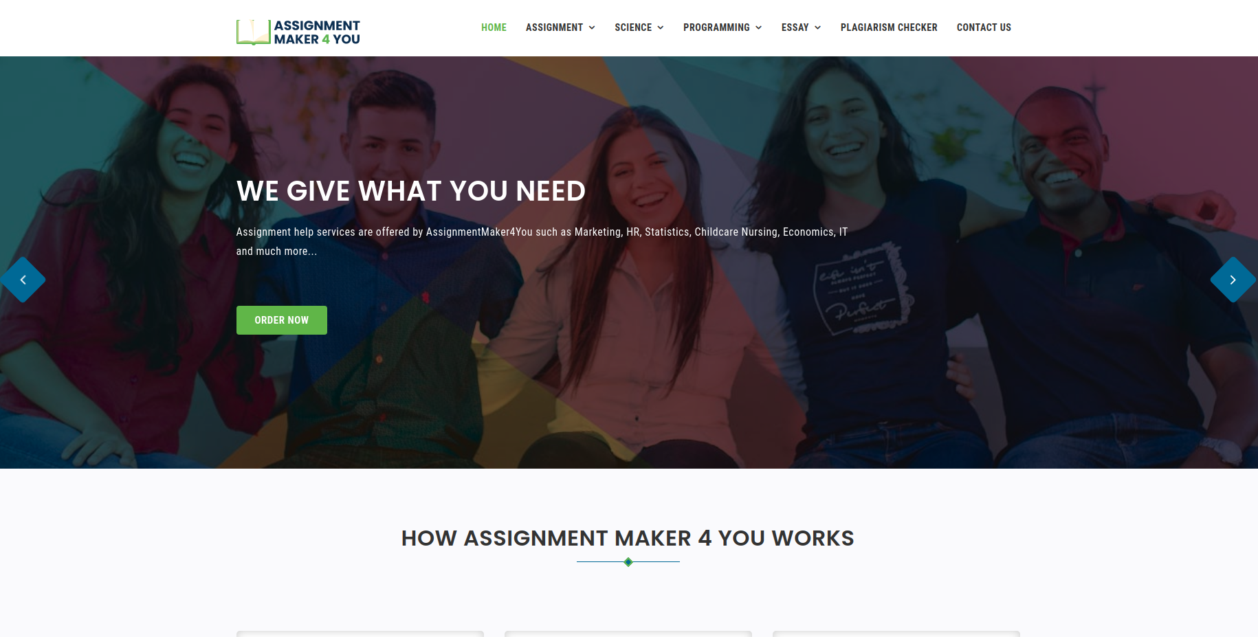 Assignment Maker 4 You